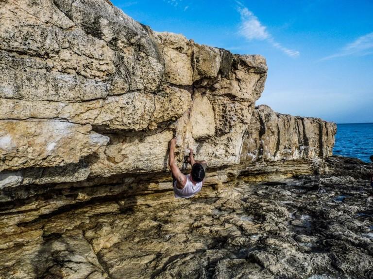 bouldern in porto pi